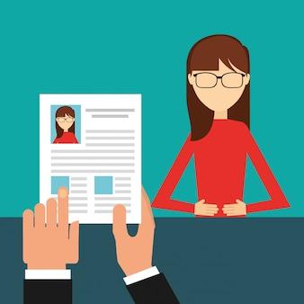 Diseño de concepto de puestos de trabajo