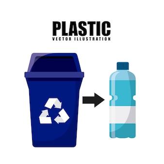 Diseño de concepto de residuos