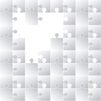 Diseño de concepto de rompecabezas