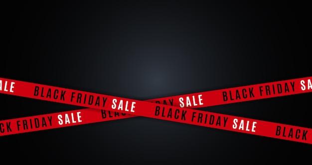 Diseño de concepto de venta de viernes negro