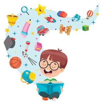 Diseño conceptual para educación infantil