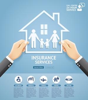 Diseño conceptual de servicios de pólizas de seguros