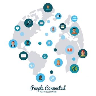 Diseño conectado personas