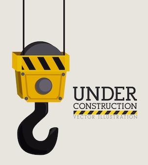 Diseño constructivo, ilustración vectorial.