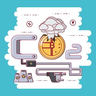 Diseño de consumo de energía bitcoin