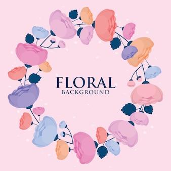 Diseño de corona floral