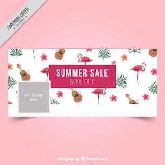 Diseño de cover de verano