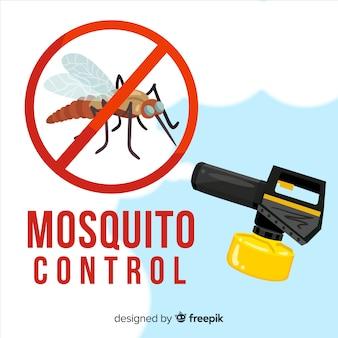 Diseño creativo de mosquito control