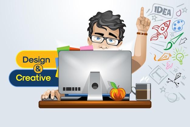 Diseño creativo y servicios de solución, consulta especializada.