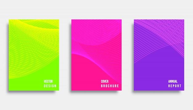 Diseño de la cubierta abstracta