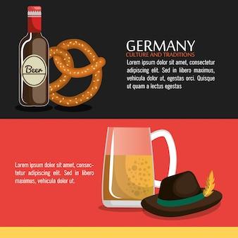 Diseño de la cultura alemana