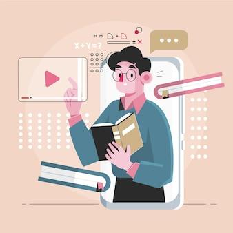 Diseño de cursos en línea.