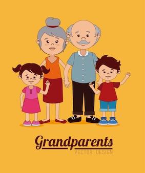 Diseño de abuelos