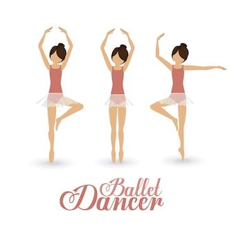 Diseño de bailarina