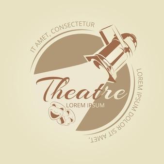 Diseño de banner de teatro