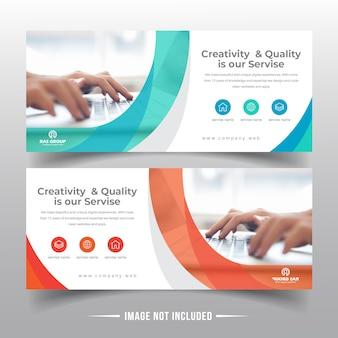 Diseño de banner web empresarial