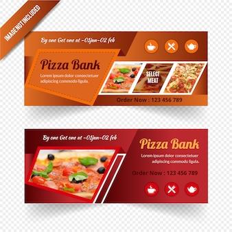 Diseño de banner web para restaurante
