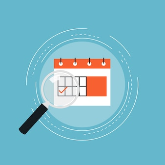 Diseño de fondo de calendario