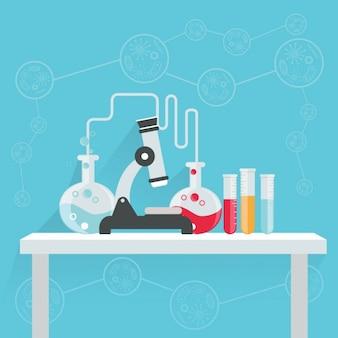 Diseño de fondo de ciencia