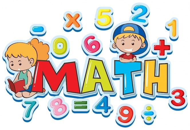 Diseno De Fondo De Matematica