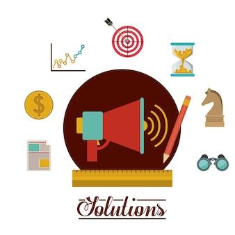 Diseño de iconos de soluciones