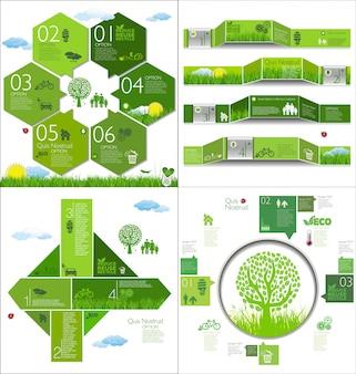 Diseño de infografía moderna