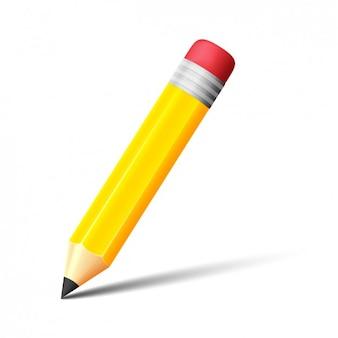Diseño de lápiz escribiendo