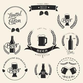 Diseño de logotipo de la cerveza