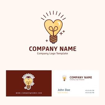 Diseño de logotipo de la empresa con nombre basado en el vector del día de la madre