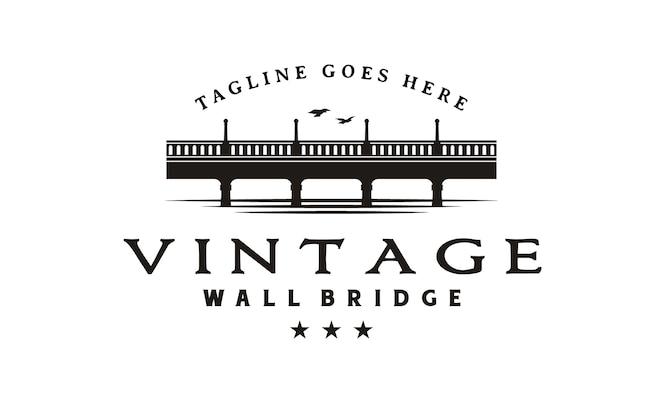 Diseño de logotipo de puente