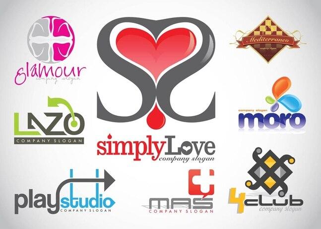 Diseño de logotipos vectoriales imágenes