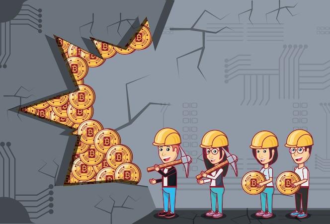 Diseño de minería de criptomonedas