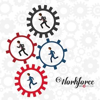 Diseño de negocios y fuerza de trabajo