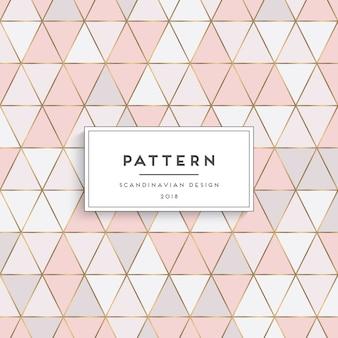Diseño de patrón escandinavo