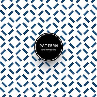 Diseño de patrón geométrico creativo abstracto
