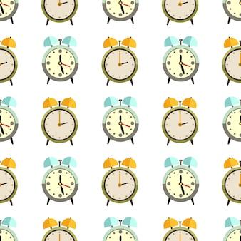 Diseño de patrones sin fisuras de relojes planos