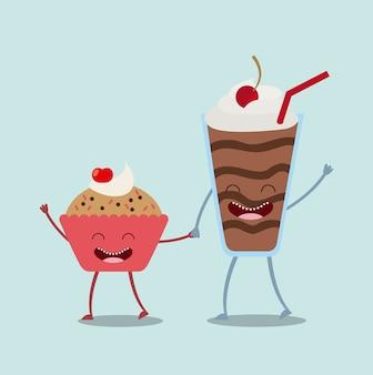 Diseño de personajes de comida