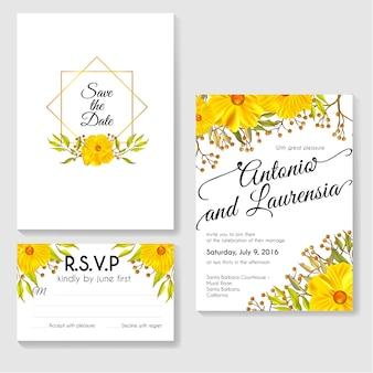 Diseño de plantilla de tarjeta de invitación