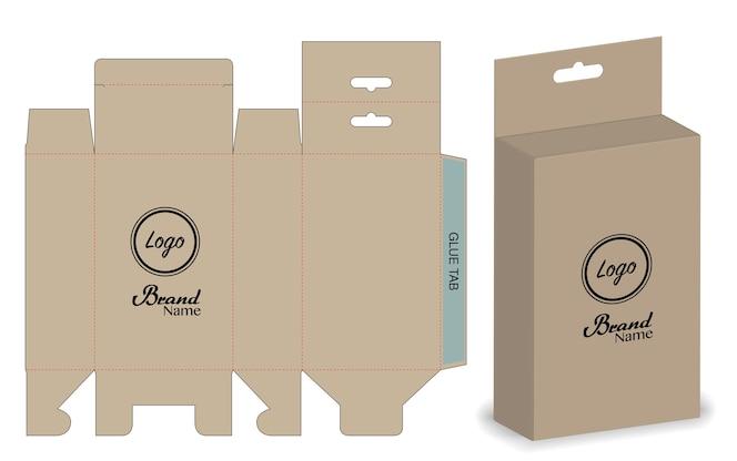 Caja de panda para regalo