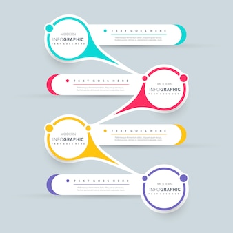 Diseño de presentación de infografía