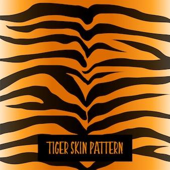 Diseño de textura de patrón de piel de tigre