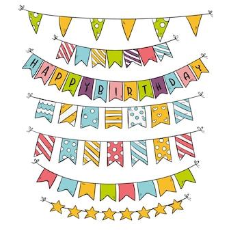 Diseño de decoración de cumpleaños