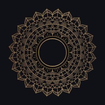 Diseño decorativo mandala