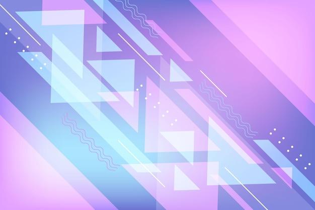 Diseño degradado de fondo abstracto