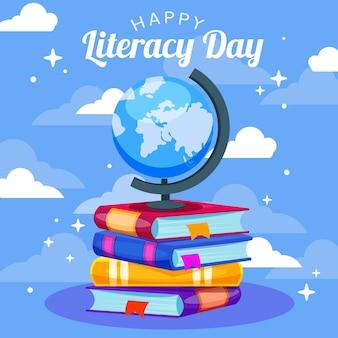 Diseño del día internacional de la alfabetización