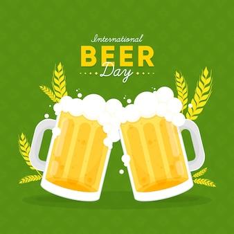 Diseño del día internacional de la cerveza