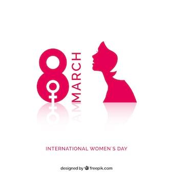 Diseño día internacional de la mujer vector gratuito
