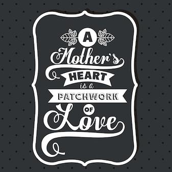 Diseño del día de las madres