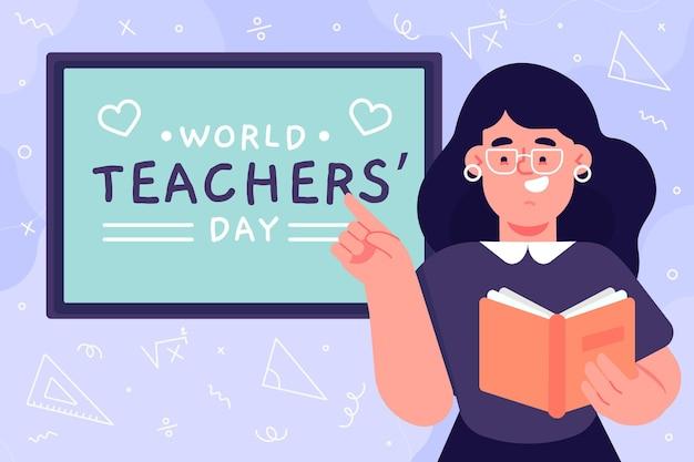 Diseño del día del maestro