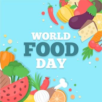 Diseño del día mundial de la alimentación
